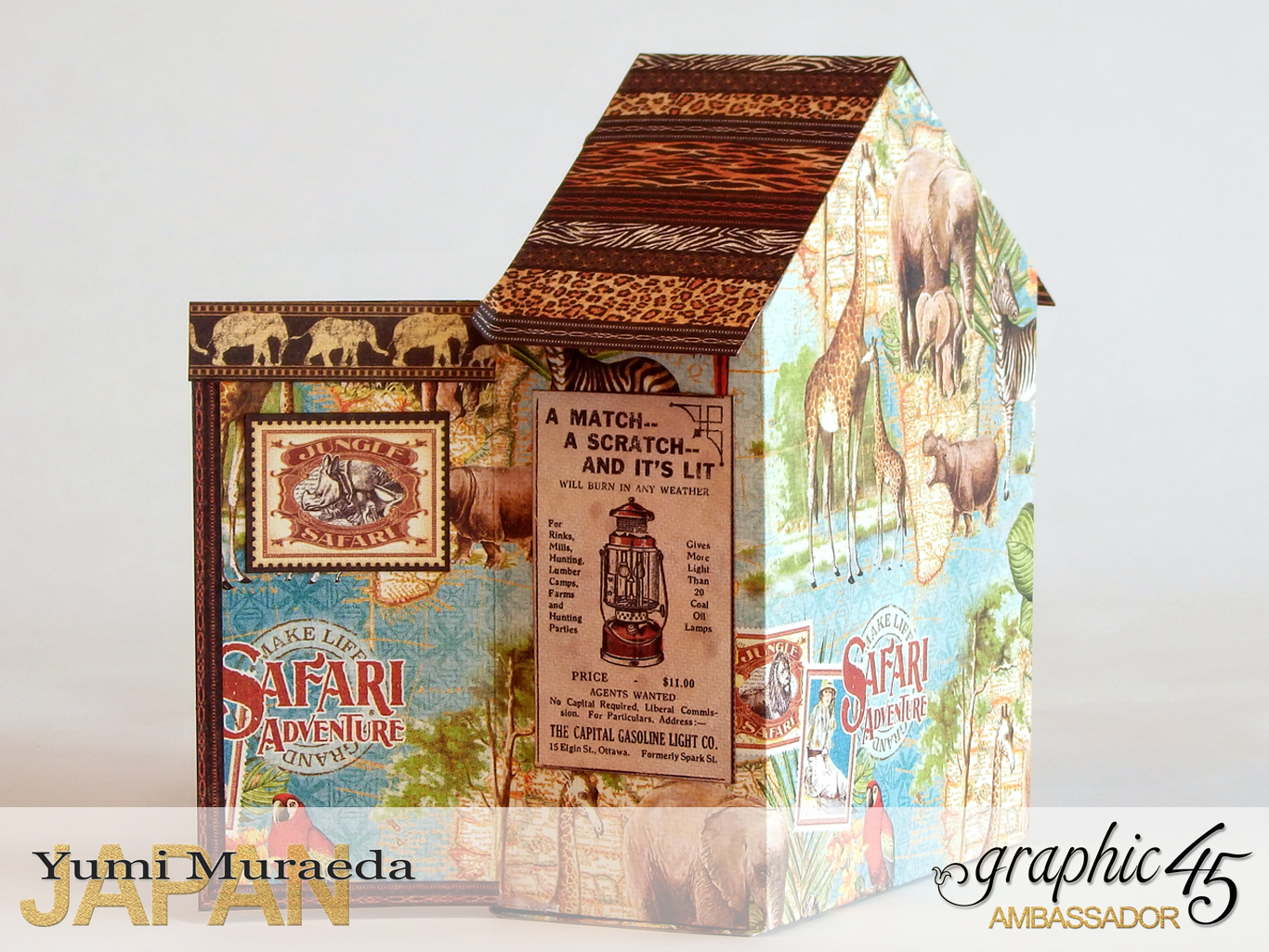 6 Park Ranger Office, Safari Adventure, by Yumi Muraeda, Product by Graphic 45jpg