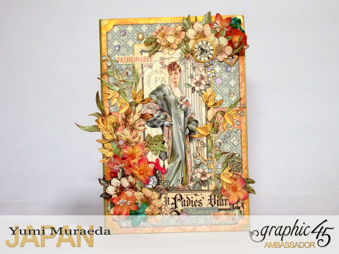 1My Lady Accesoory Case, A Ladies Diary, by Yumi Muraeda, Product by Graphic 45jpg