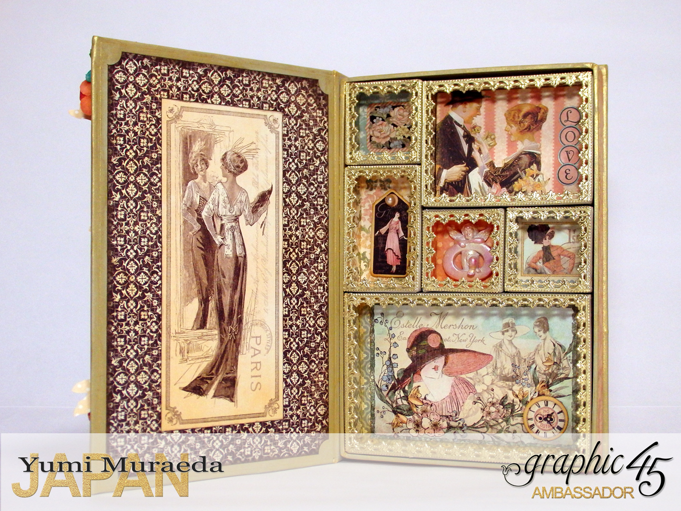 2My Lady Accesoory Case, A Ladies Diary, by Yumi Muraeda, Product by Graphic 45jpg