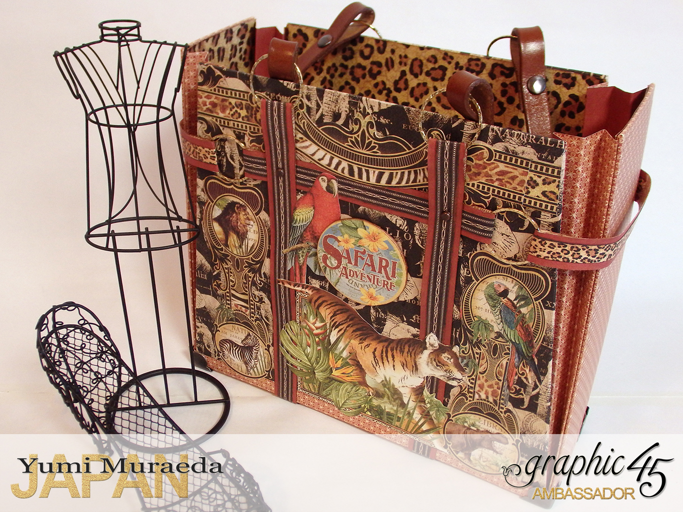 TownToteBagGraphic45SafariAdventurebyYumiMuraeadaProductbyGraphic4 Photo2