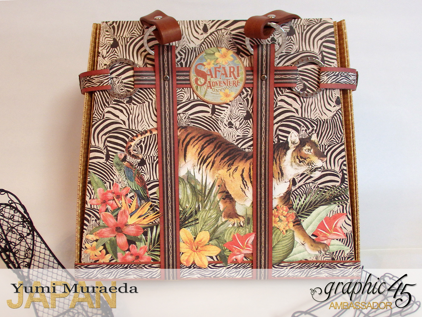 TownToteBagGraphic45SafariAdventurebyYumiMuraeadaProductbyGraphic4 Photo4