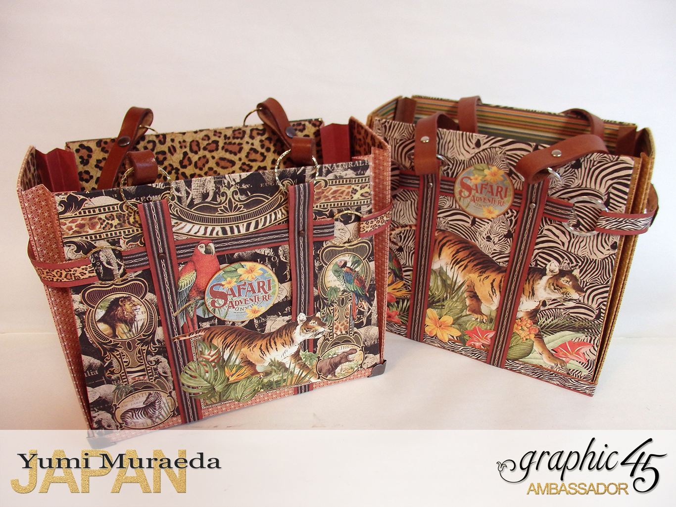 TownToteBagGraphic45SafariAdventurebyYumiMuraeadaProductbyGraphic4 Photo