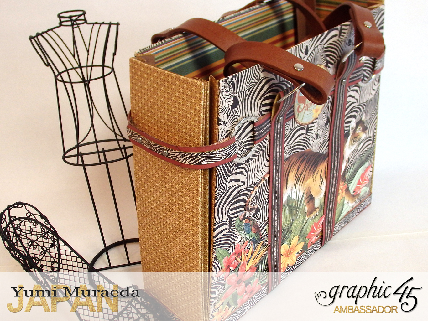 TownToteBagGraphic45SafariAdventurebyYumiMuraeadaProductbyGraphic4 Photo8