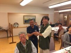 20160621 メジロライアン納骨式後の会食に典さん&奥平先生