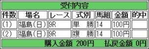 20160717 トーセンカナロア