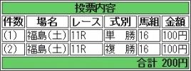 20160723 アドマイヤビジン