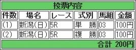 20160731 2歳メイクデビュー メロディーア