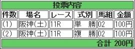 20160924 阪神11R 大阪スポーツ杯(1600) ランドマーキュリー