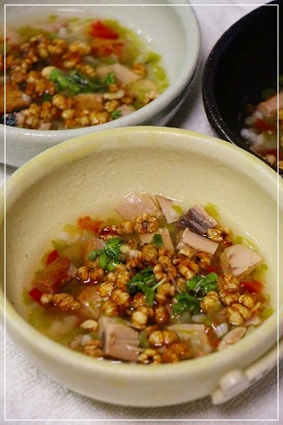 スープたっぷりご飯♪