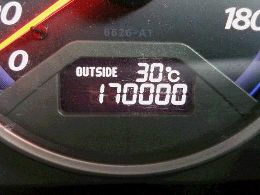17万キロ