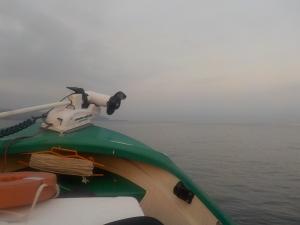 DSCN2199 薄曇り美風凪ぎ快適でも長潮