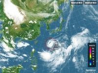 台風が…(´・ω・`)