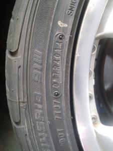 オデッセイ RB1 タイヤ変形 アウトレット新規