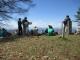 大勢の登山者がいた頂上