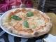 昼食のピザ①