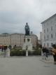 モーツアルトの銅像