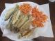 昼食の天ぷら