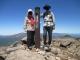 山頂にてジイとバア