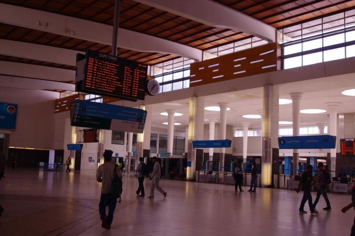 ケープタウンの駅 (3)