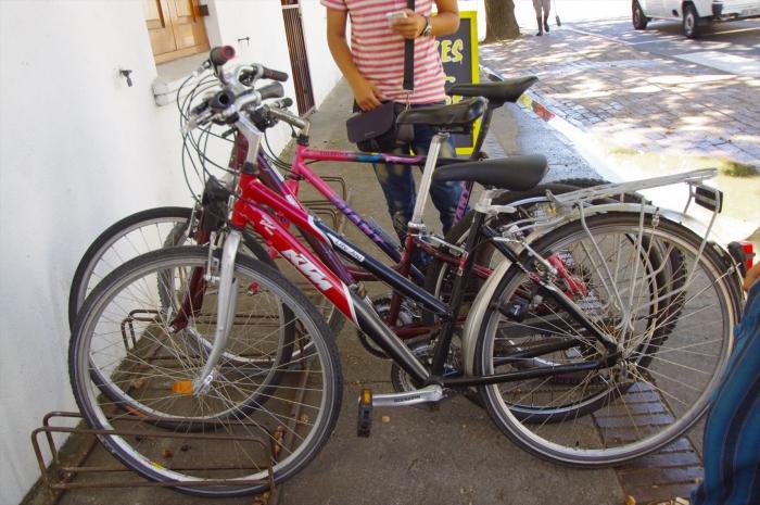 ステレンボッシュのレンタルバイク