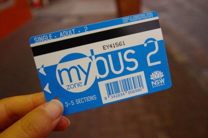 シドニーの市バス (4)