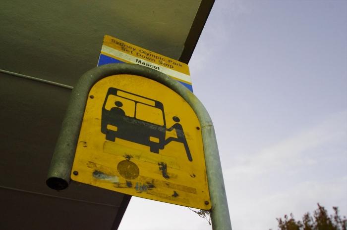 シドニーの市バス (3)