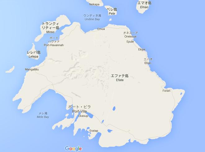 エファテ島マップ