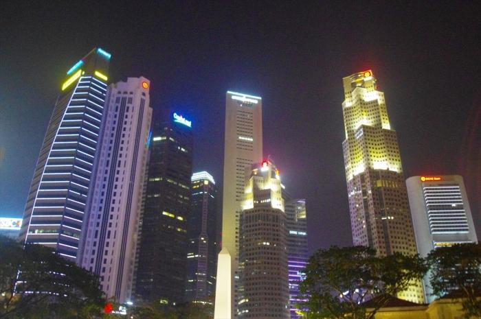 シンガポール夜景 (4)