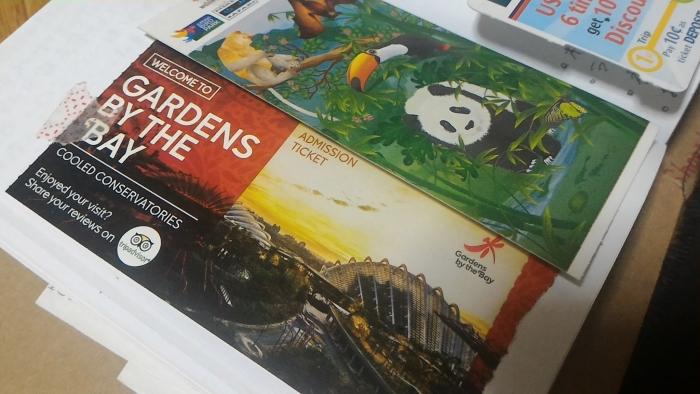 シンガポール植物園チケット