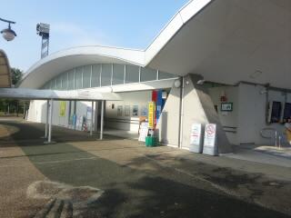 東海北陸自動車道長良川SA