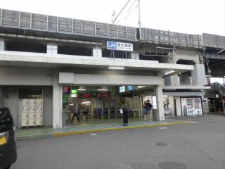JR京都線西大路駅