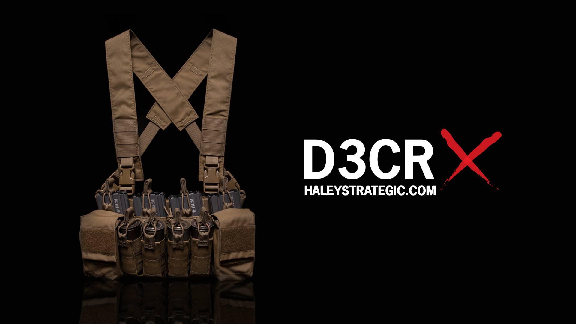 ハーレーストラテジー(Haley Strategic Partners)より新型チェストリグ「D3CRX」が登場