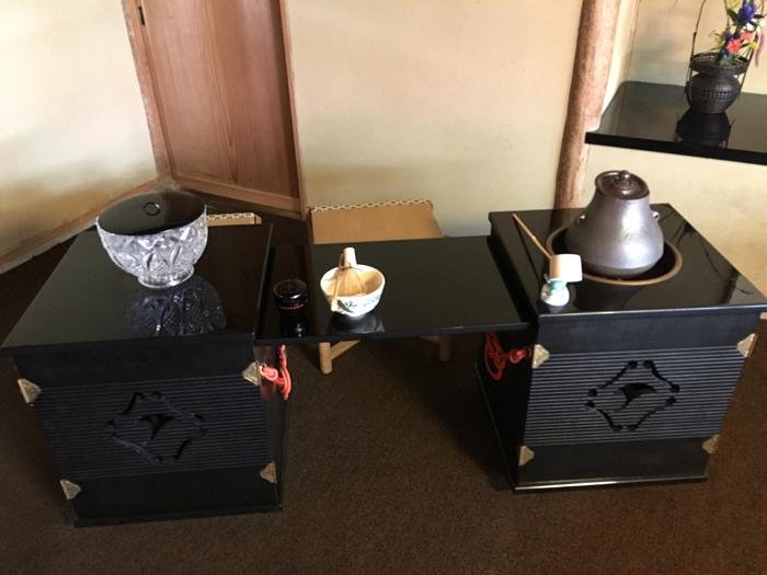 菓游 茜庵 徳島 茶席