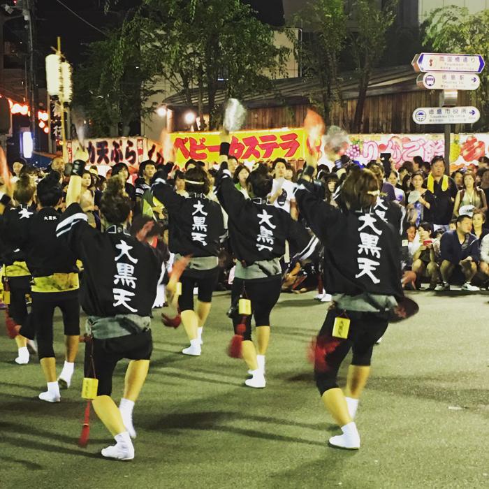 阿波踊り 2016年 大黒天