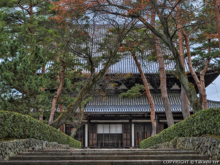 相国寺本堂(法堂)附玄関廊