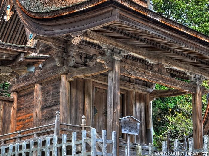 幡頭神社本殿