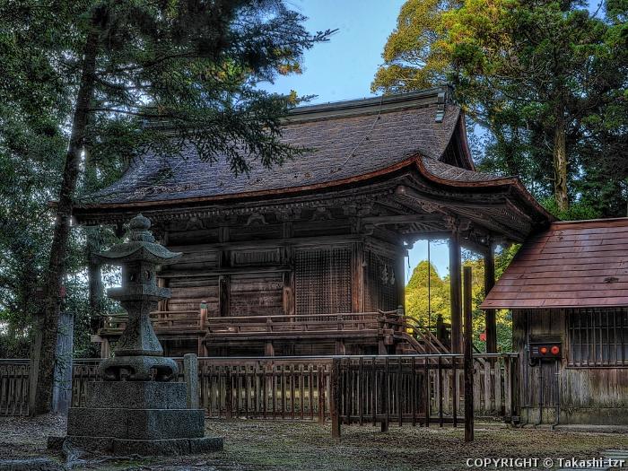 石城神社本殿