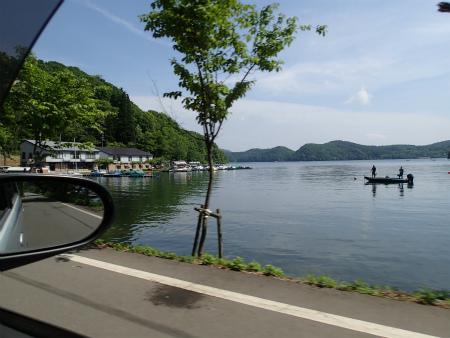 野尻湖だ!