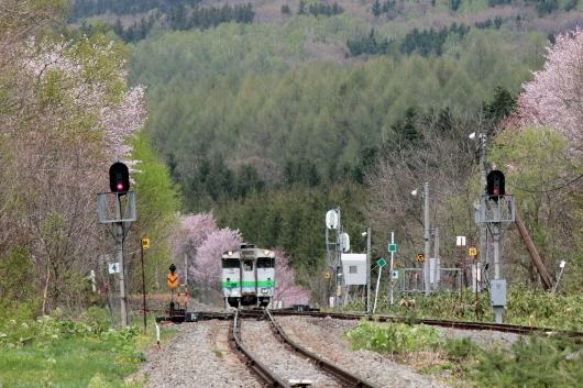 ⑭上り列車到着 (530x353)