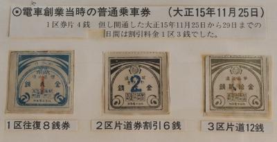⑧開業時の乗車券 (400x205)