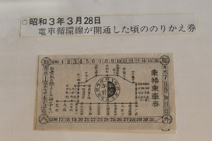 ⑨昭和3年乗換券 (300x200)