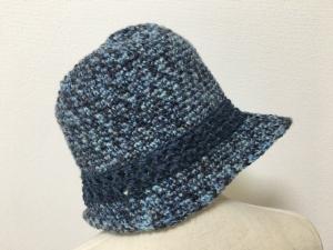 ジュートの中折れ帽子(横)