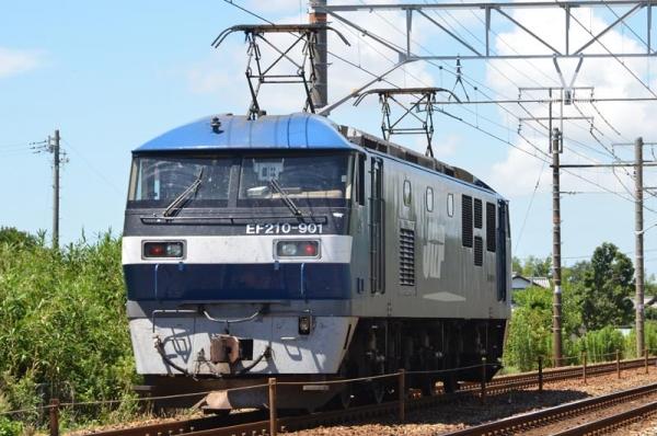 EF210-901単機(2016年8月21日)