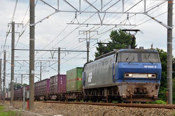 5073レ EF200代走(2016年6月25日)