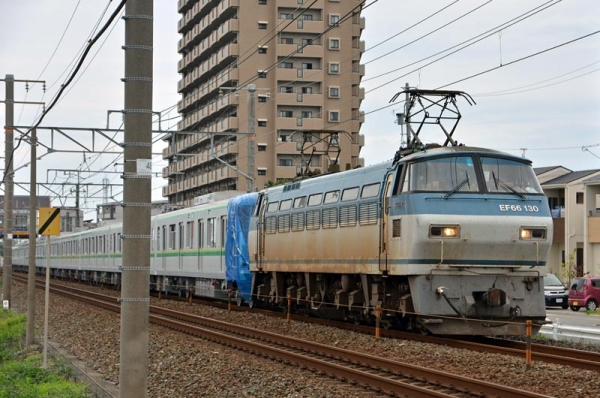8862レ東京メトロ16000系電車甲種輸送
