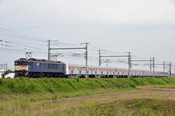 都営地下鉄大江戸線12-600形電車甲種輸送