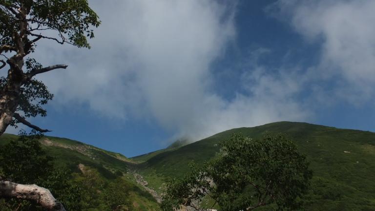カンクラ雪渓