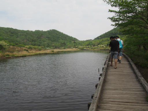 20160529・群馬ツツジ旅8-22・覚満淵の沼と空
