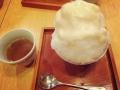 かなん亭、甘酒のかき氷
