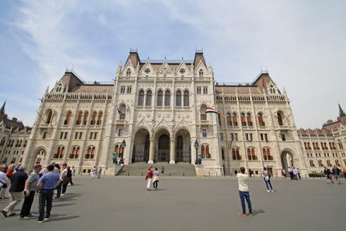 ブダペスト国会議事堂2015-7